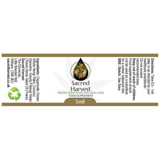 CBD 5ml Label